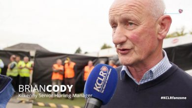 Brian Cody, speaking to KCLR at Kilkenny's hurling homecoming in Nowlan Park on Monday 7 September 2015.