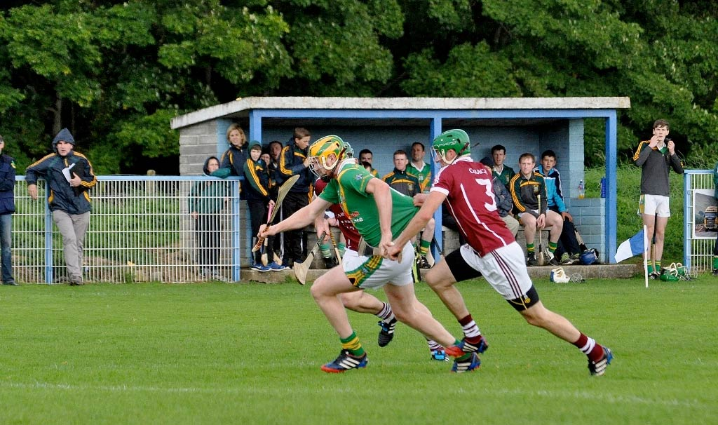 Carrickshock and Clara in league hurling action. Photo: KilkennyGAA.ie