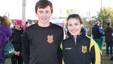 Peter Lynch and Aoibhe Richardson (KCH) both won silver in their respective Junior (U-20) events at the National Cross Country Championships in Santry and have been selected for the Irish Junior teams that will compete at next months European Cross Country Championships. Photo: Kilkenny Athletics/Flickr