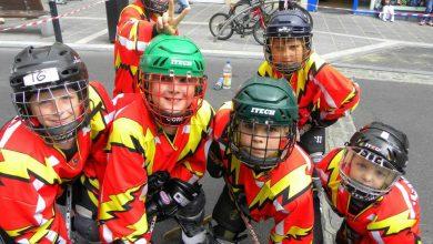 Some of the junior Kilkenny Storm members. Photo: Kilkenny Storm/Facebook