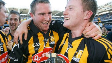 JJ Delaney and Taggy Fogarty pictued together in their training days.