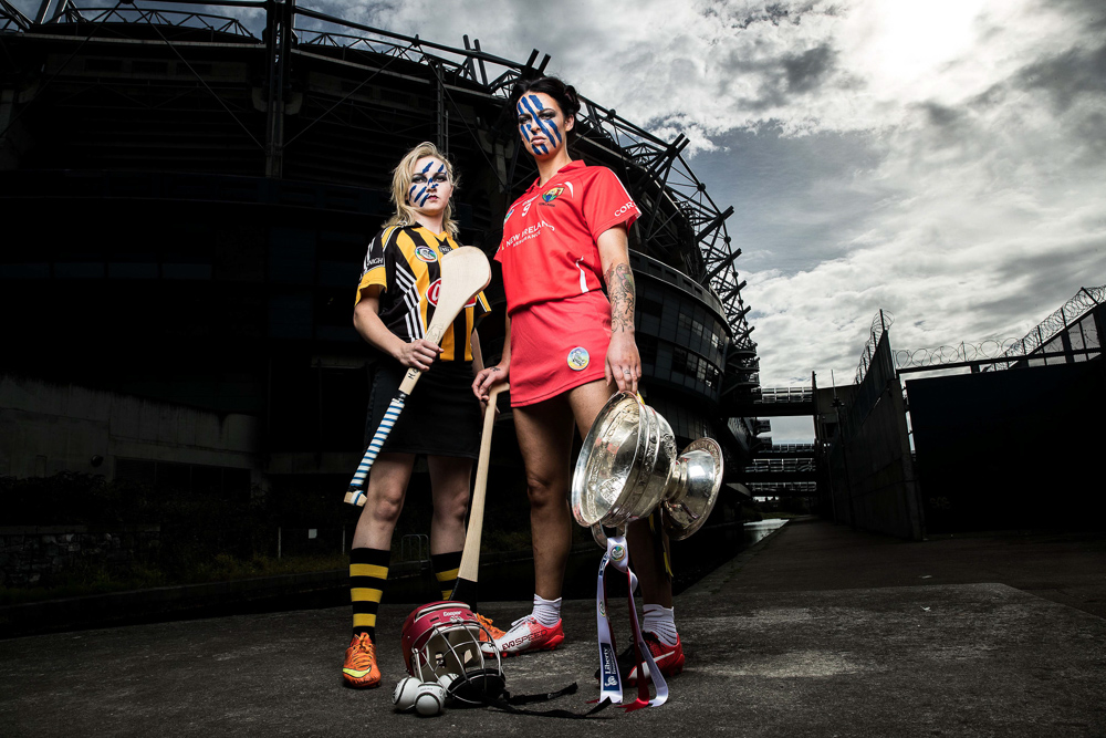 2016 Liberty Insurance All-Ireland Camogie Championship Finalists, Croke Park, Dublin. Mandatory Credit ©INPHO/Billy Stickland