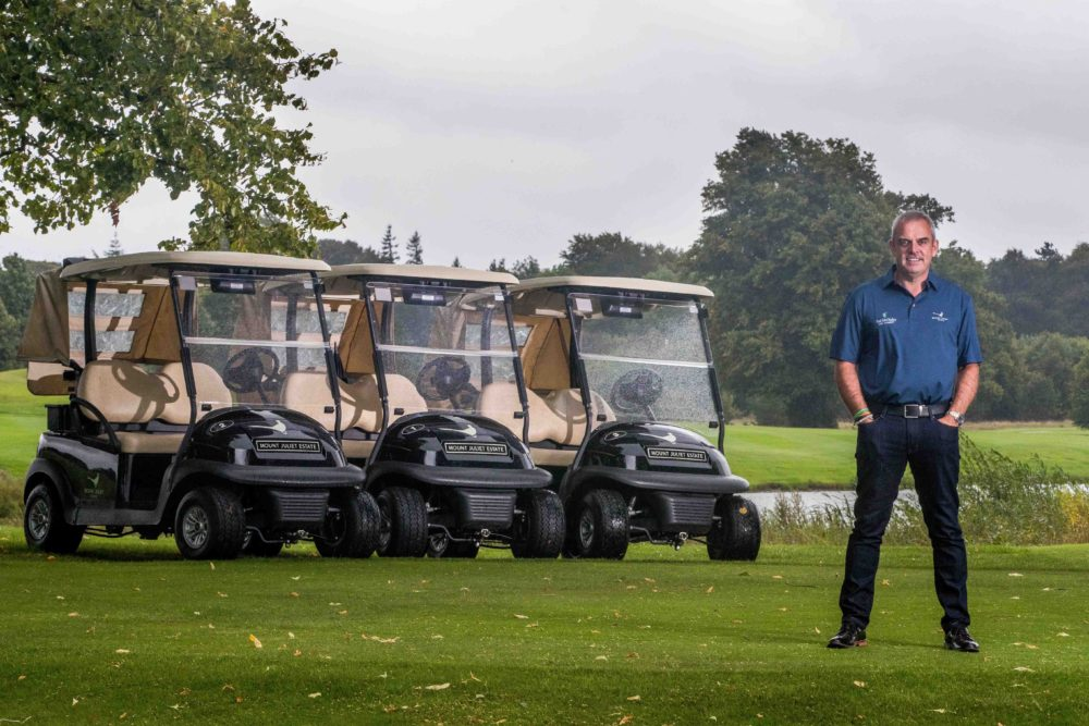 Irish golf Paul McGinley pictured at Mount Juliet, Kilkenny ©INPHO/Morgan Treacy