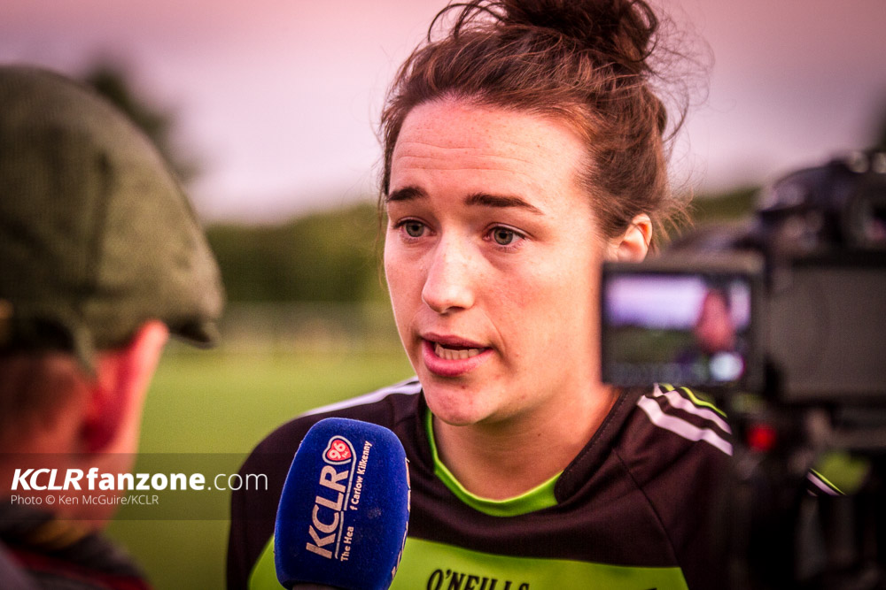 Kilkenny Camogie senior forward Denise Gaule. Photo: Ken McGuire/KCLR