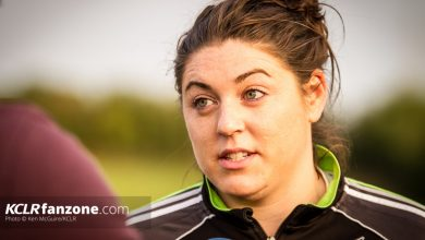 Kilkenny intermediate camogie captain Áine Fahey. Photo: Ken McGuire/KCLR
