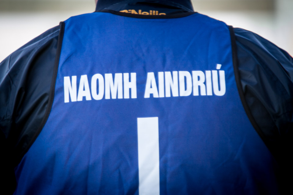 St. Andrews v Naomh Eoin in the 2016 Carlow Intermediate Football Final. Photo: Ken McGuire/KCLR