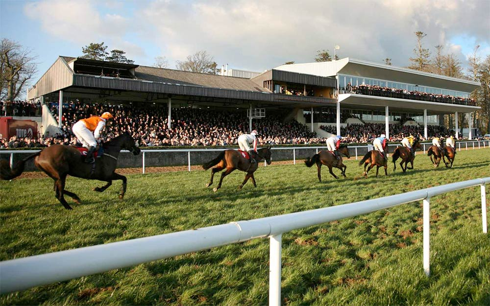 Horse racing at Gowran Park. Photo: GowranPark.ie