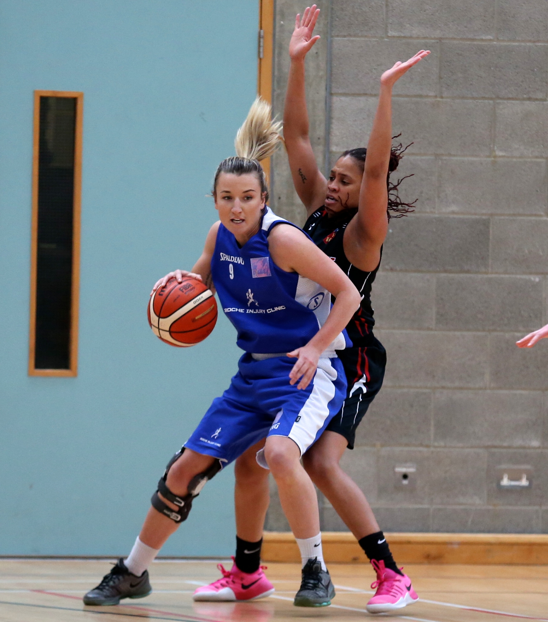 Marble City Hawks in action against IT Carlow in the Women's National Final at Letterkenny. Photo: Basketball Ireland