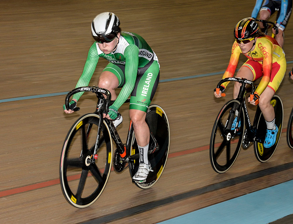 Olympic champ Vogel triumphs at Track Cycling Worlds