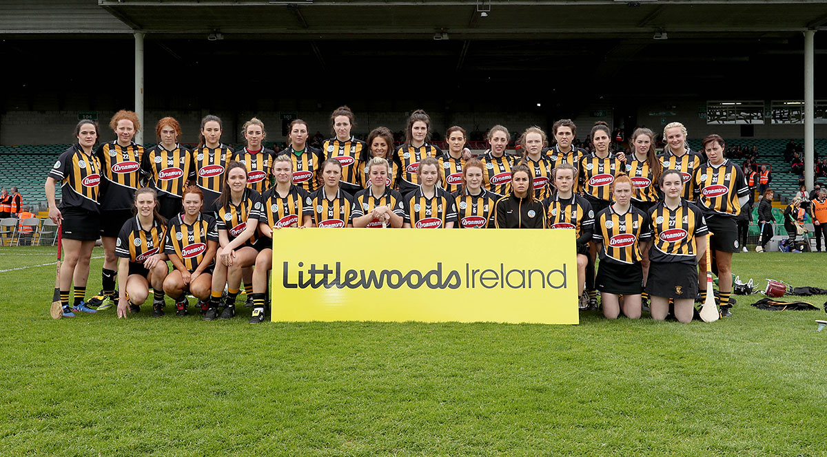 Kilkenny camogie team. The Cork team. Photo: ©INPHO/Donall Farmer