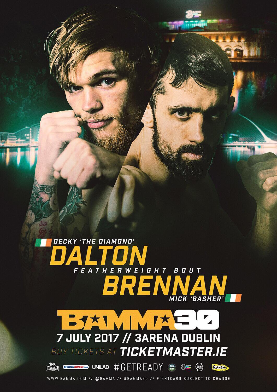 Decky Dalton v Mick Brennan