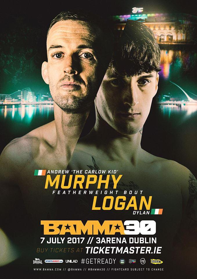 The Carlow Kid Andy Murphy v Dylan Logan