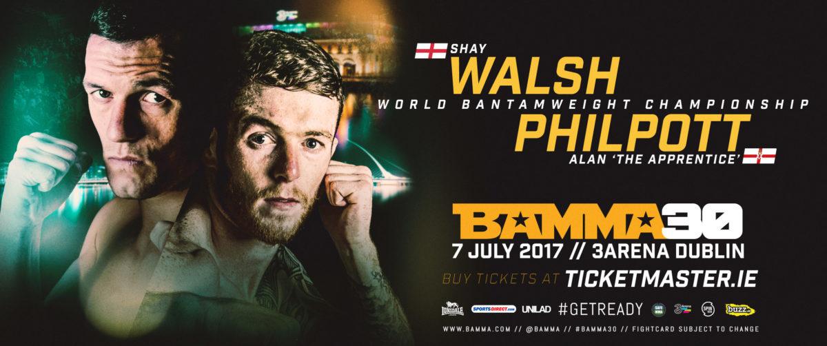 Alan Philpott v Shay Walsh (BAMMA 30)