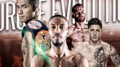 L-R: Stephen Loman, Frans Mlambo, Myles Price, Norman Parke for Brave 13.