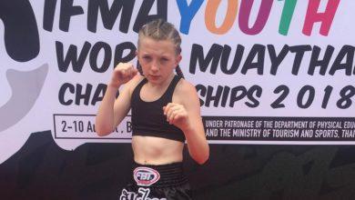 Carlow Muaythai Gym's Chloe Black