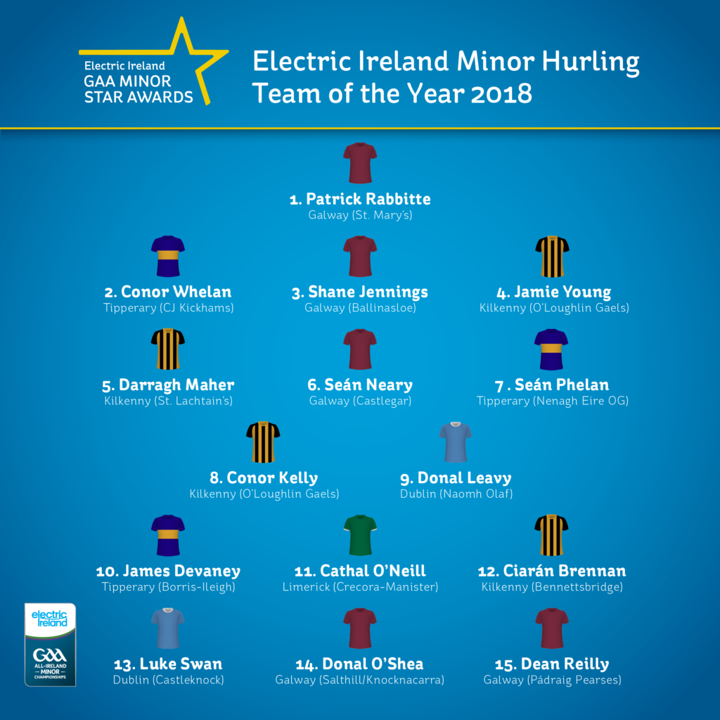 Motivational Quotes For Sports Teams: Four Kilkenny Players Make Minor Hurling Team Of The Year