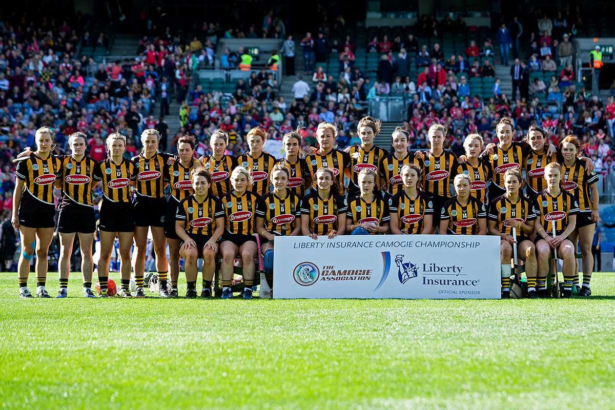 Kilkenny's 2018 All-Ireland Camogie Final stars. Photo ©INPHO/Laszlo Geczo