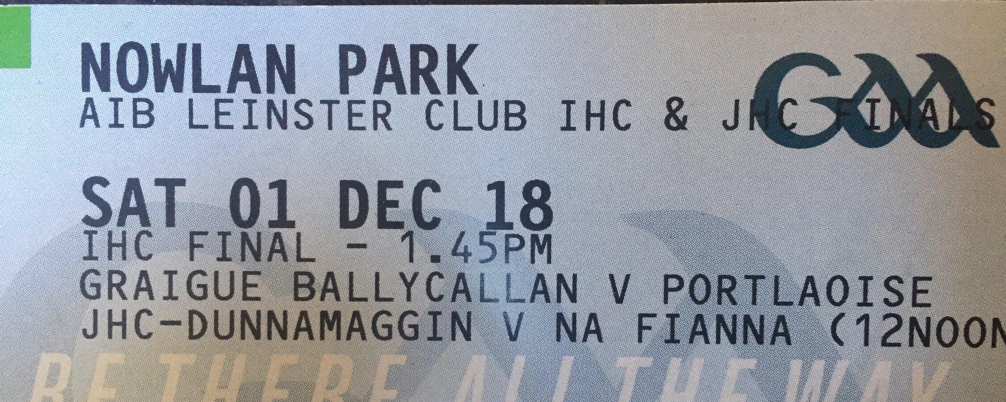 The 2018 Leinster Intermediate & Junior Finals. Photo: @dunnamaggingaa/Twitter