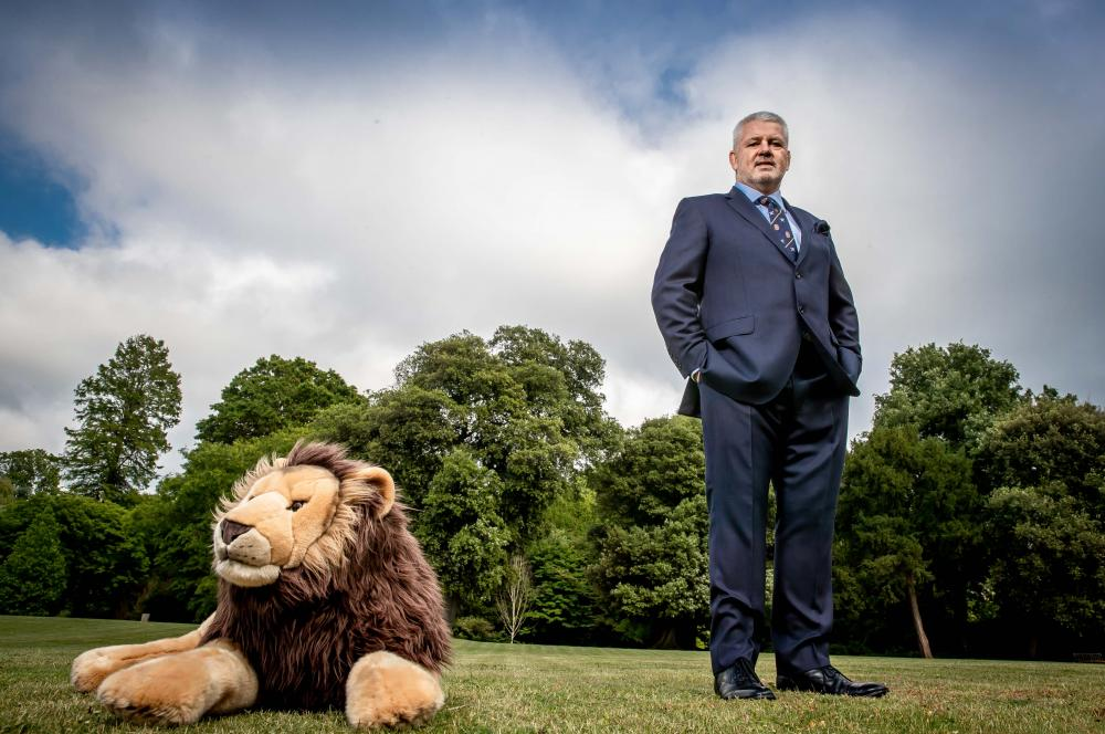 Warren Gatland. Photo: Lionsrugby.com Press