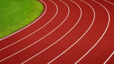 Running track. File photo.