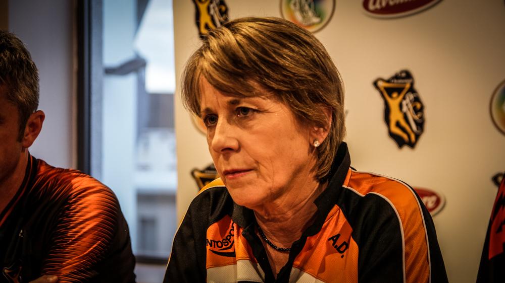 Kilkenny Camogie manager Anne Downey