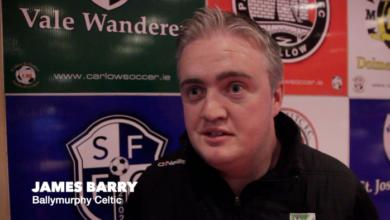 James Barry, Ballymurphy Celtic