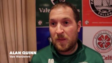 Alan Quinn, Vale Wanderers
