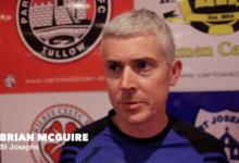 Brian McGuire, St Josephs