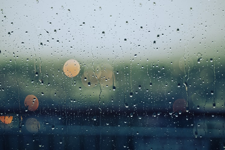 Rain. Photo: Gabrile Diwald/Unsplash