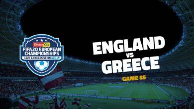 England v Greece