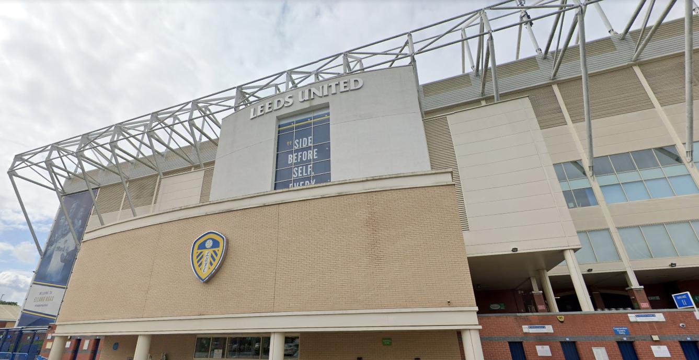 Leeds United, Elland Road (Google Maps)