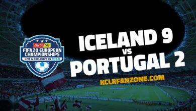 Iceland v Portugal