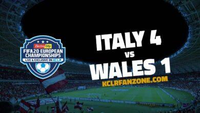 Italy v Wales