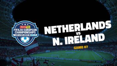 Netherlands v Northern Ireland