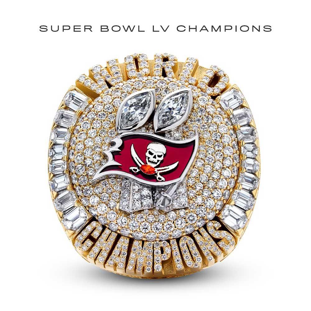 Buccaneers Super Bowl LV Ring